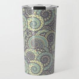 nagual. tribal seamless pattern Travel Mug