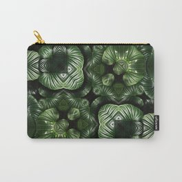 Green leaves pattern Carry-All Pouch