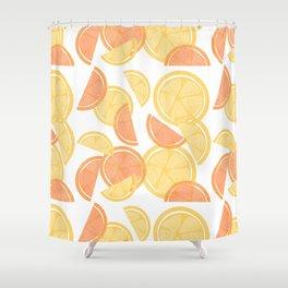 14 Citrus Showers Shower Curtain