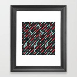 Rockin' Cigs Black Framed Art Print