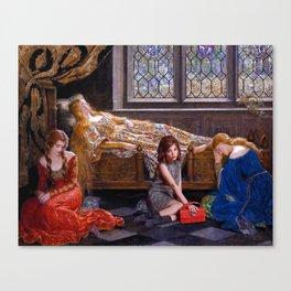 rowan blanchard + john collier Canvas Print
