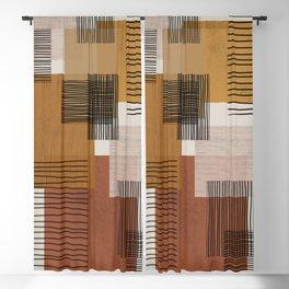 Modern Pattern Blackout Curtain