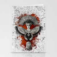 phoenix Stationery Cards featuring Phoenix by Diogo Verissimo