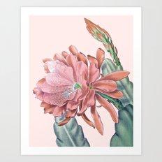 #flower Art Print
