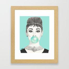 MS GOLIGHTLY Framed Art Print
