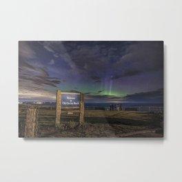 May Aurora at Old Garden Beach #2 Metal Print