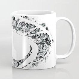 Anatomy Series: Limbic Brain System Flowers Coffee Mug