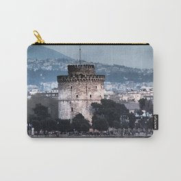White Tower-Thessaloniki Carry-All Pouch