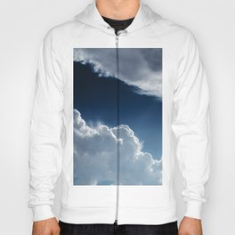 Sky, clouds and lights. Hoody