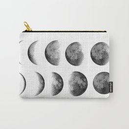 Phases (white) Carry-All Pouch