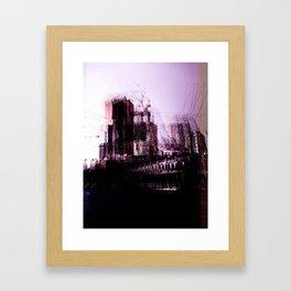 Abandoned City Framed Art Print