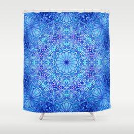 Mehndi Ethnic Style G454 Shower Curtain