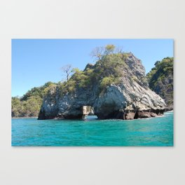 Rock Arch: Montezuma, Costa Rica Canvas Print