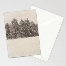 snowfall Stationery Cards