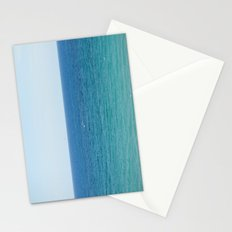 ocean vertical Stationery Cards