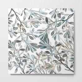 leaves/Agat/ Metal Print