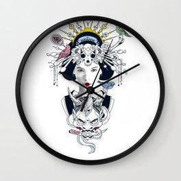 Chica Japonesa Wall Clock