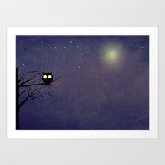 Night Owl ~~ Art Print