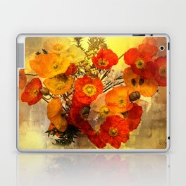 Poppy Expressions Laptop & iPad Skin
