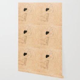 Egon Schiele Lovers Wallpaper