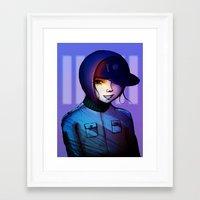 manga Framed Art Prints featuring Manga by IOSQ