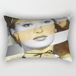 Manet's Olympia & Audrey Hepburn Rectangular Pillow