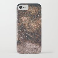 fireflies iPhone & iPod Cases featuring Fireflies by Alexis Hilliard