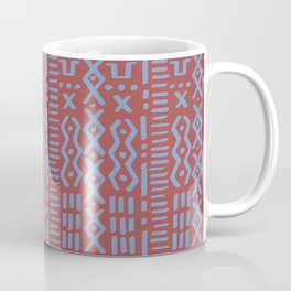 Mudcloth No. 1 in Rust Coffee Mug
