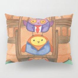 Owl Parliament Pillow Sham