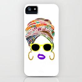Afritude 1 iPhone Case