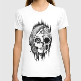 Lady Sugar Skull  T-shirt