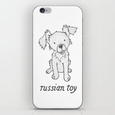 Dog Breeds: Russian Short Haired Terrier iPhone & iPod Skin