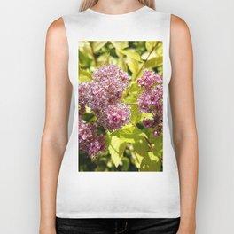 Lilac flowers Biker Tank