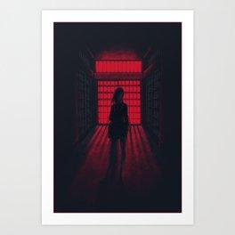 Prison School - Mari Art Print