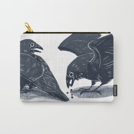 Blue Ravens Carry-All Pouch