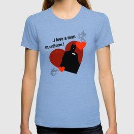 ManInUniform: CapedCrusader T-shirt