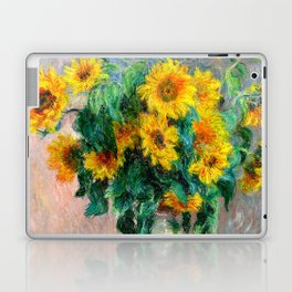 Bouquet of Sunflowers Laptop & iPad Skin