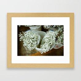 Flower Market | DTLA II Framed Art Print