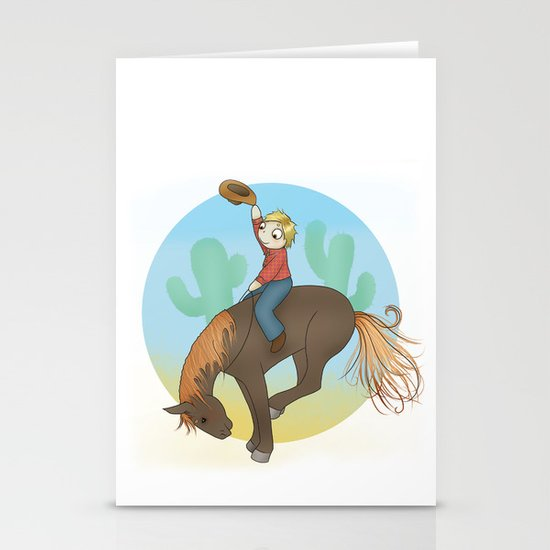 Yee Haw! Stationery Cards