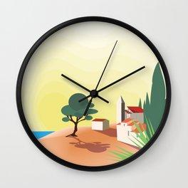 Sunny Calm Wall Clock