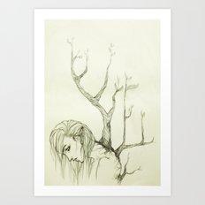 The Burden of Growth Art Print