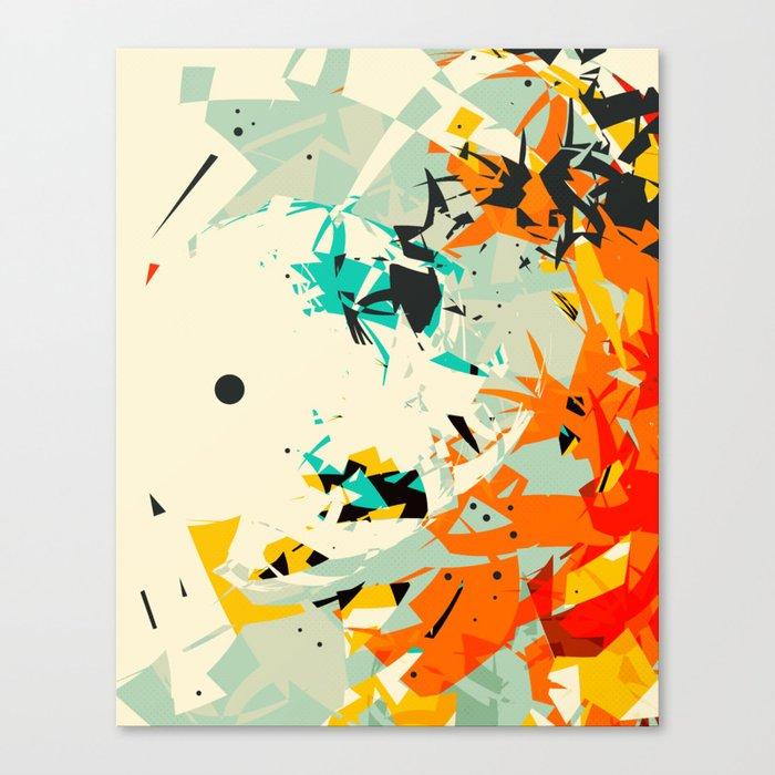 CRASH 7 Canvas Print