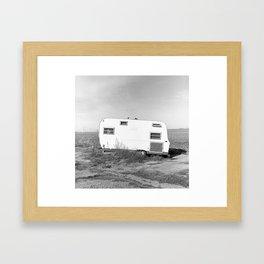 Country Trailer.  Framed Art Print