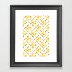 Love Triangle 4 Framed Art Print