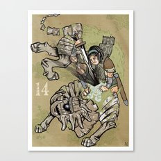 fourteenth colossus Canvas Print