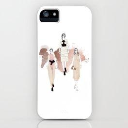 Fashionary 3 iPhone Case