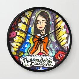 Nuestra Señora de Guadalupe Wall Clock