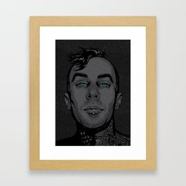 Travis Barker Framed Art Print