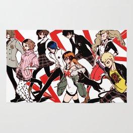 Persona 5 Characters Rug
