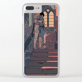 Secret and Sad farewell Clear iPhone Case